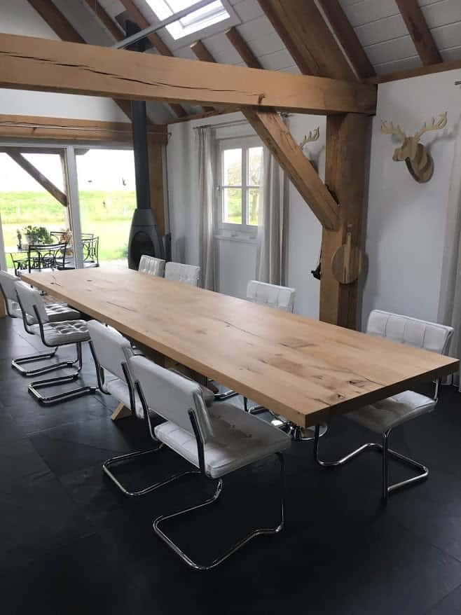 Houten meubelen op maat voro particulieren